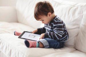 uso de telas na infância